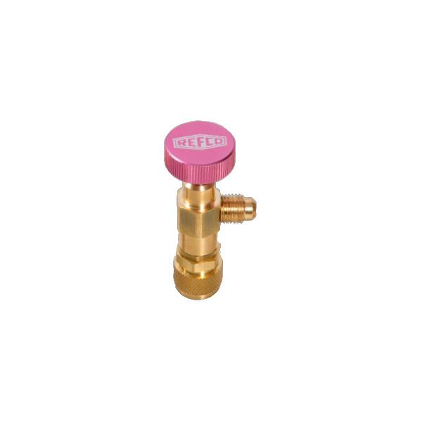 0081024-Schnellkupplung-mit-Schraderventil-Refco-A38410