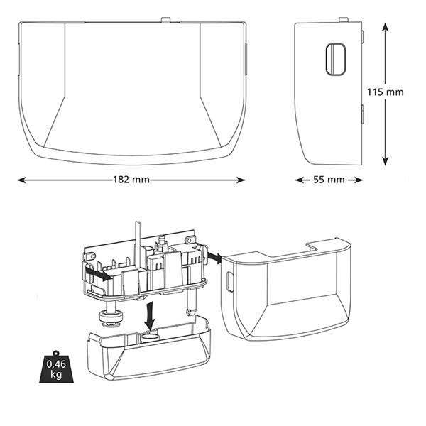 0083021-Tauwasserpumpe-Mini-Blanc-Deluxe-MS-461-Aspen-FP1080-1