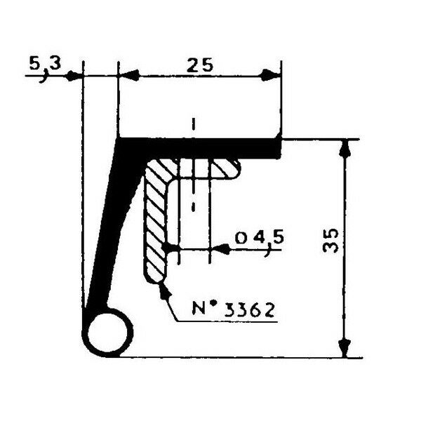 1001904-Dichtungsprofil-Fermod-250