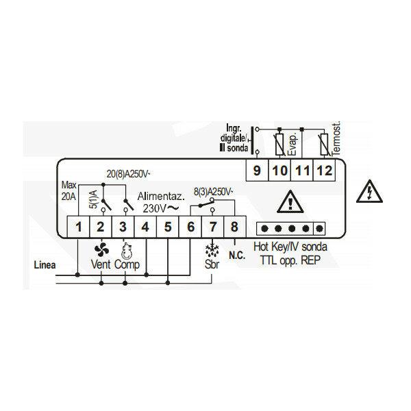 1202170-Kühlstellenregler-Dixell-XR06CX-5N0C0_2