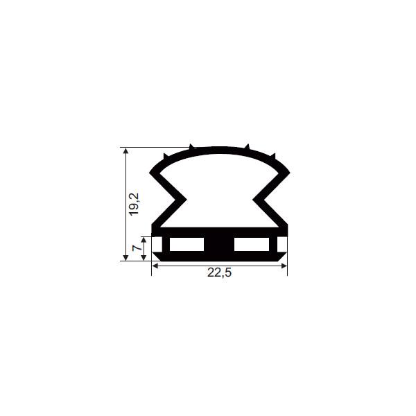1001103-Dichtungsprofil-Gummi-FD514