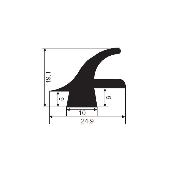 1001802-Dichtungsprofil-FD2724
