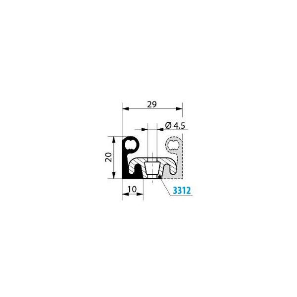 1001901-Dichtungsprofil-Fermod-2311_1