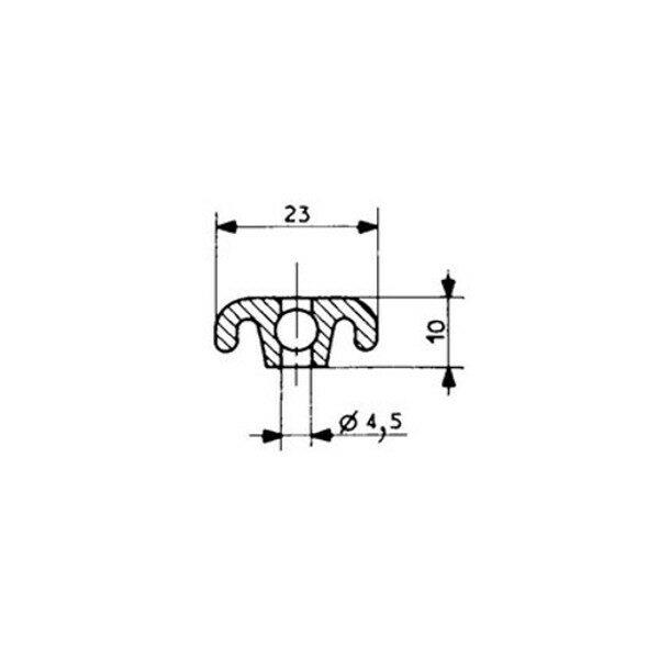 1001921-Leistenprofil-Fermod-3312-2311-8511