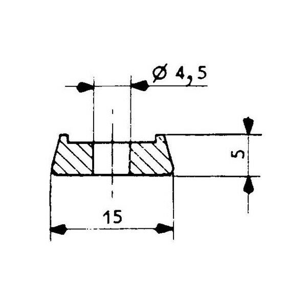 1001923-Befestigungsleiste-252-Dichtungsprofil-67-Fermod