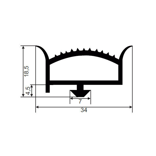 1001934-Dichtungsprofil-FD8934-JCR-024