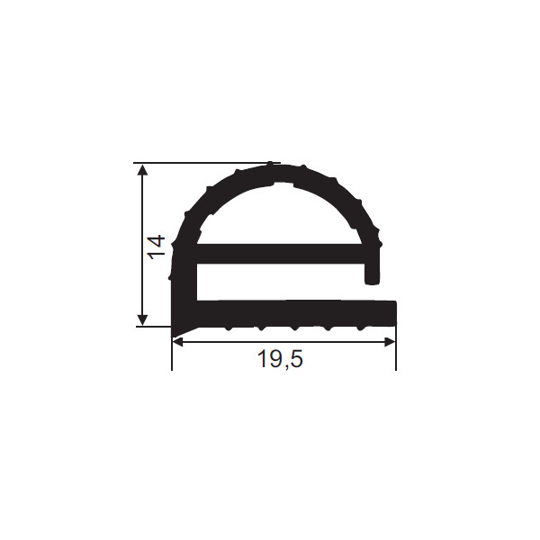 1001962-Dichtungsprofil-FD104-Fermod- 27F