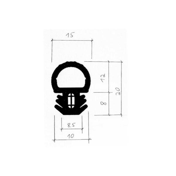 1001992-Dichtungsprofil-Gummidichtung-FD34352