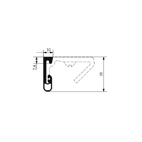 1002009-Dichtungsprofil-Fermod-2350