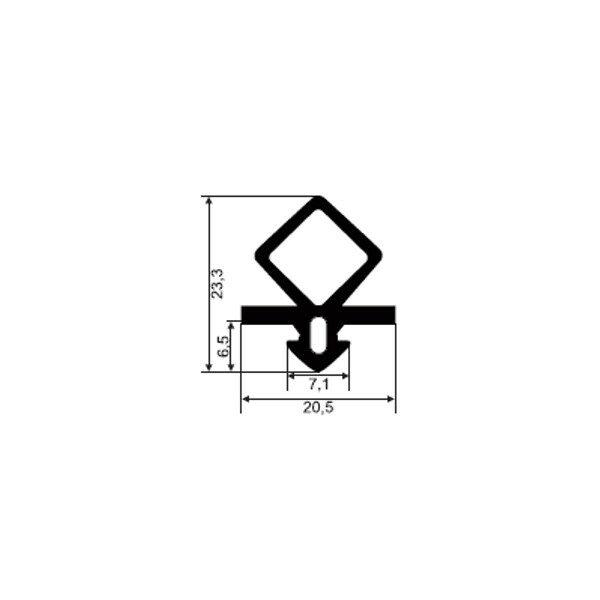 101100-Dichtungsprofil-Gummidichtung-FD524